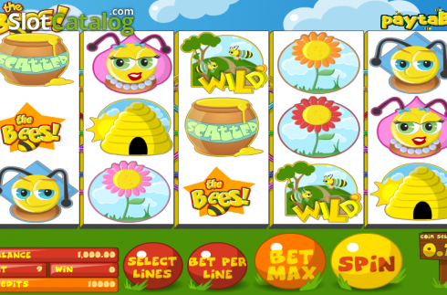 Reels. The Bees (Video Slot fra Betsoft)