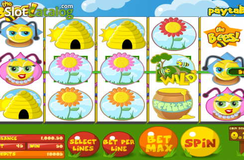 Vill. The Bees (Video Slot fra Betsoft)