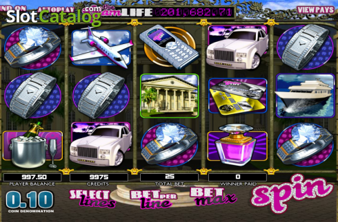 Reels. The Glam Life (Video Slots from Betsoft)