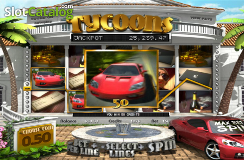 Win. Tycoons (Video Slot from Betsoft)