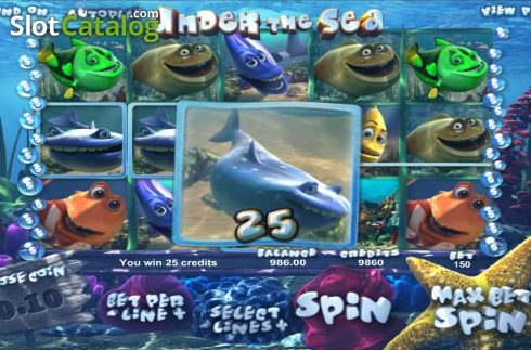 Vincere. Under the Sea (Betsoft) (Video Slot a partire dal Betsoft)