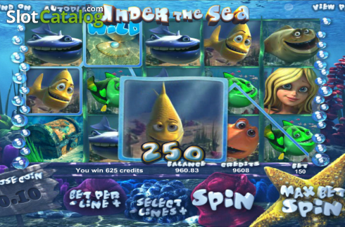 selvaggio. Under the Sea (Betsoft) (Video Slot a partire dal Betsoft)