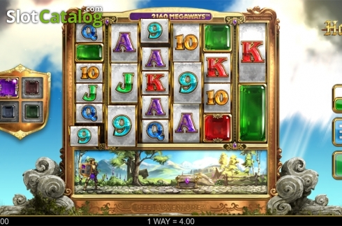 Win screen. Holy Diver (Video Slots from Big Time Gaming)