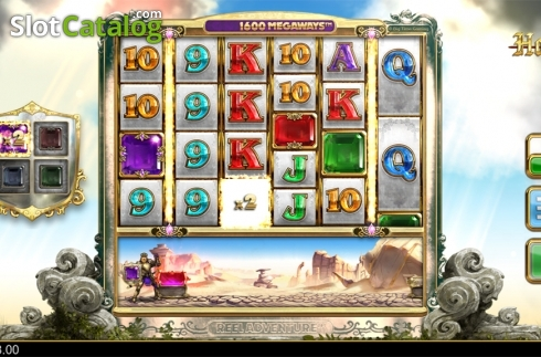 Symbols collection screen 2. Holy Diver (Video Slots from Big Time Gaming)