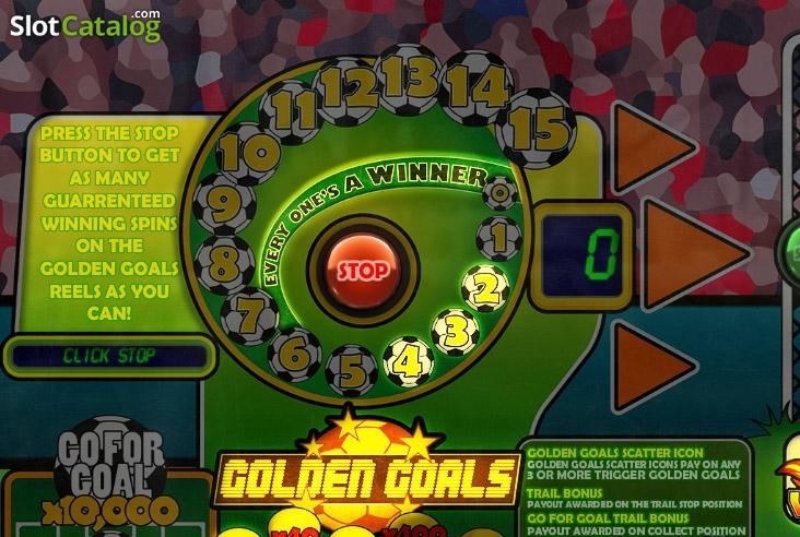 Golden Goals Slot - Play Free Big Time Gaming Slots Online
