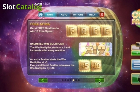 Features 2. Opal Fruits (Video Slot from Big Time Gaming)