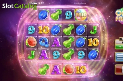 Reel Screen. Opal Fruits (Video Slot from Big Time Gaming)