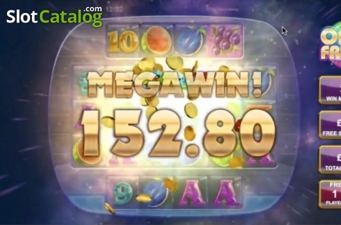 Mega Win. Opal Fruits (Video Slot from Big Time Gaming)
