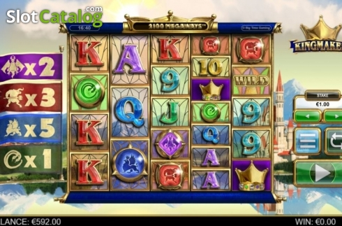 Reel Screen. Kingmaker (Video Slot from Big Time Gaming)