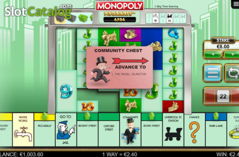 Feature. Monopoly Megaways (Video Slots from Big Time Gaming)