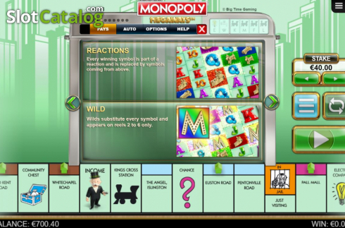 Features 1. Monopoly Megaways (Video Slots from Big Time Gaming)