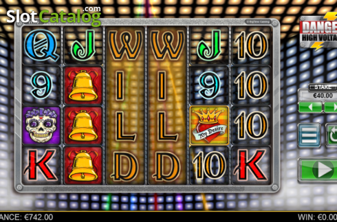 Screen 4. Danger High Voltage (Video Slot from Big Time Gaming)