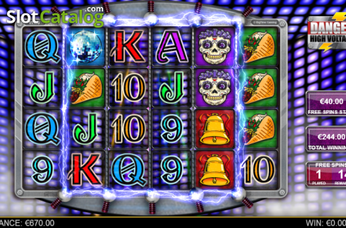 Screen 7. Danger High Voltage (Video Slot from Big Time Gaming)