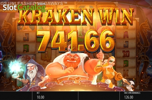 Skjerm15. Vikings Unleashed Megaways (Video Slot fra Blueprint)