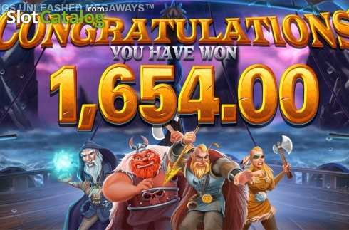 Skjerm17. Vikings Unleashed Megaways (Video Slot fra Blueprint)