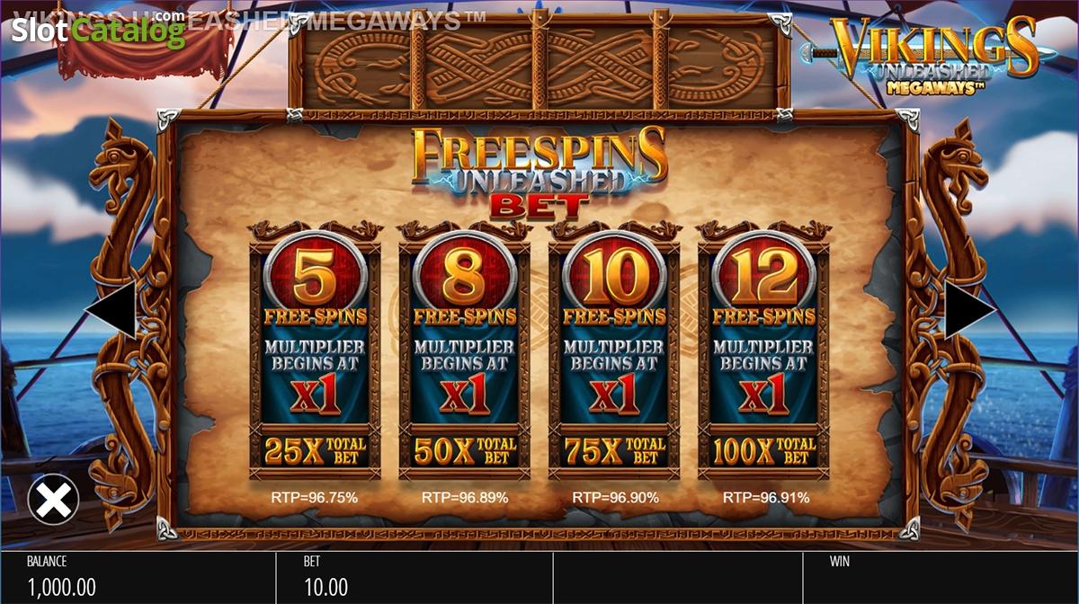 Spiele Vikings Unleashed Megaways - Video Slots Online