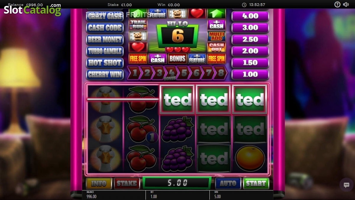 Spiele Ted Pub Fruit - Video Slots Online