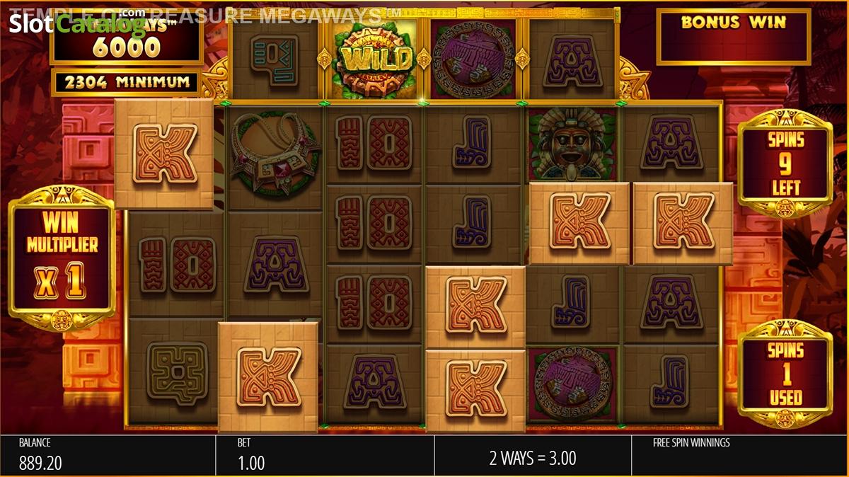 Spiele Temple Of Treasure Megaways - Video Slots Online
