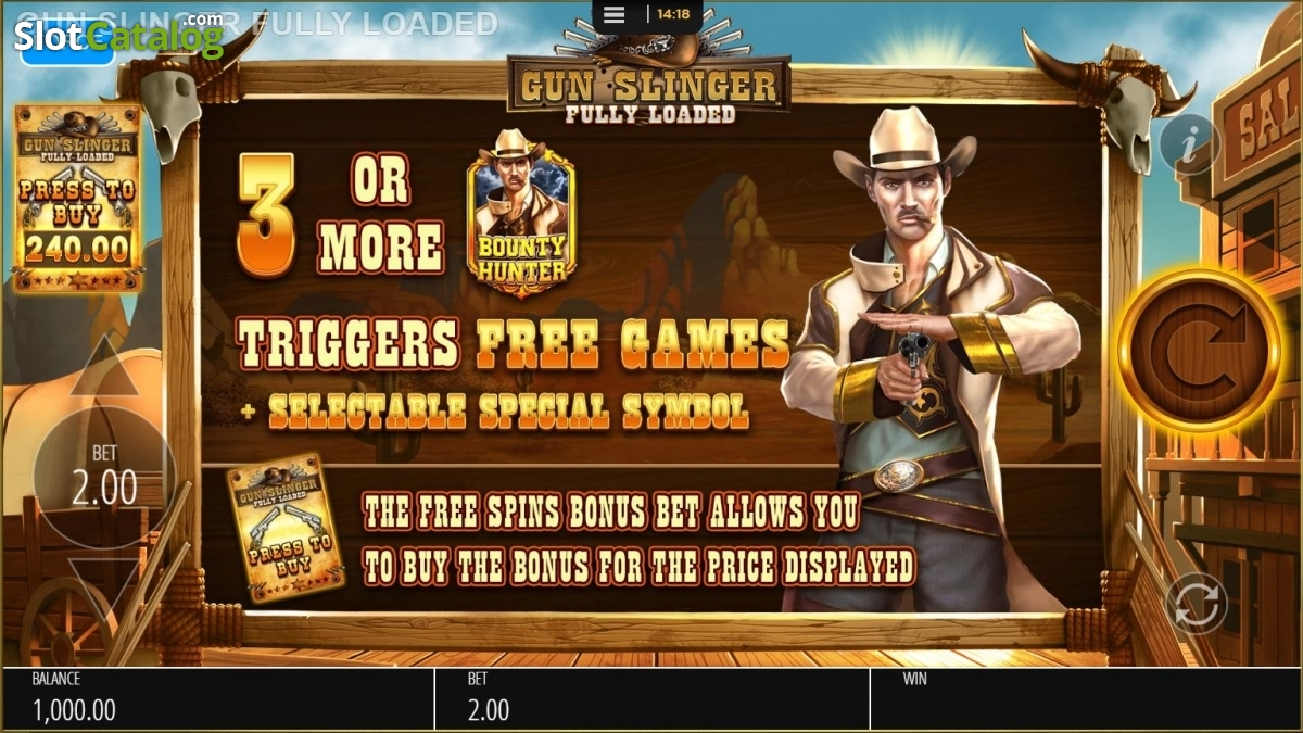 Spiele Gunslinger - Video Slots Online