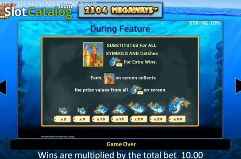 Features. Fishin' Frenzy Megaways (Video Slot from Blueprint)