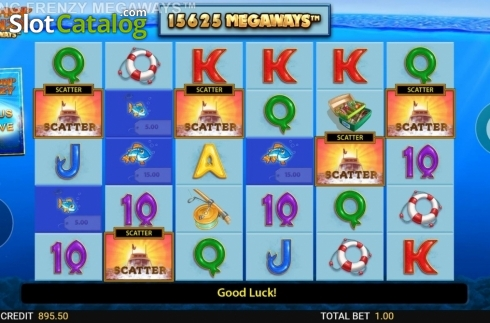 Free Spins. Fishin' Frenzy Megaways (Video Slot from Blueprint)