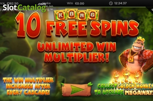 Free Spins 2. Return of Kong Megaways (Video Slot from Blueprint)