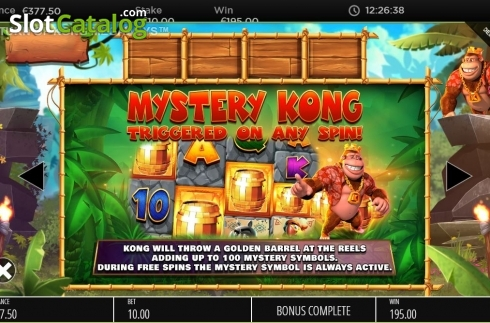 Features 1. Return of Kong Megaways (Video Slot from Blueprint)