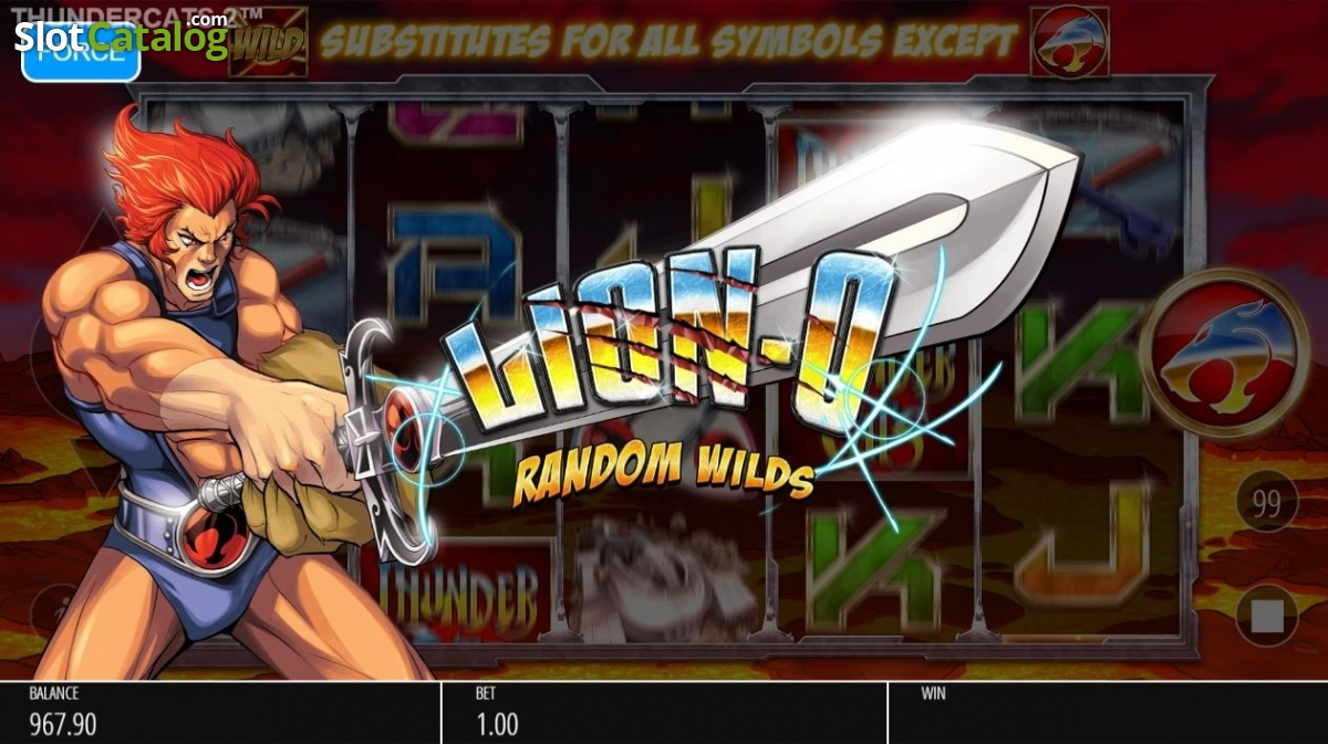 Spiele Thundercats Reels Of The Thunder - Video Slots Online