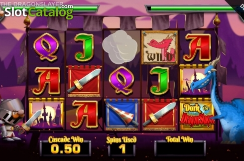 Free Spins 4. Dork the Dragon Slayer (Video Slots from Blueprint)