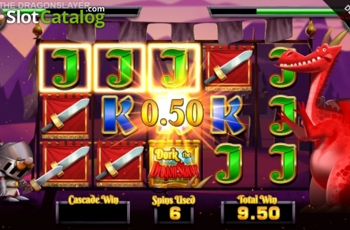 Free Spins 7. Dork the Dragon Slayer (Video Slots from Blueprint)