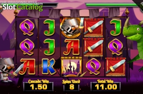 Free Spins 10. Dork the Dragon Slayer (Video Slots from Blueprint)