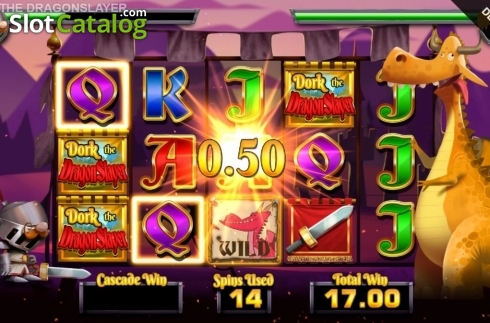 Free Spins 12. Dork the Dragon Slayer (Video Slots from Blueprint)