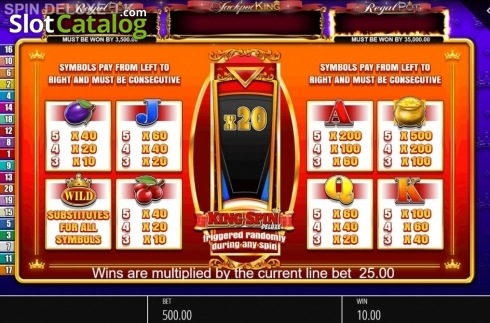 Spiele King Spin Deluxe - Video Slots Online