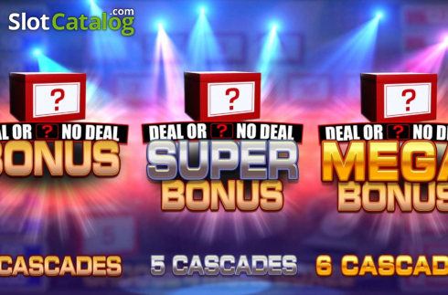 Bonus Game 1. Deal or No Deal Megaways (Video Slot from Blueprint)