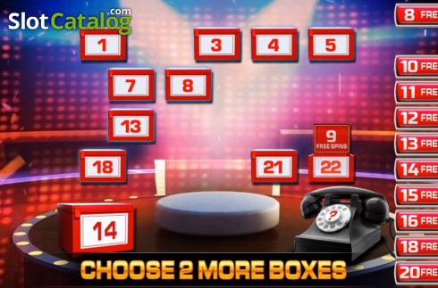 Bonus Game 2. Deal or No Deal Megaways (Video Slot from Blueprint)
