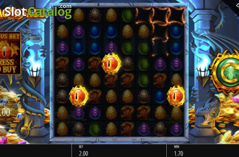 Feature. Dragon Fall (Video Slot from Blueprint)