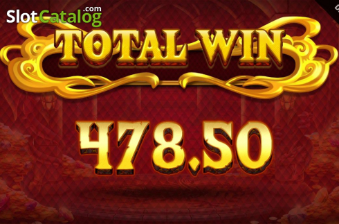Total Win. Dragon Fall (Video Slot from Blueprint)