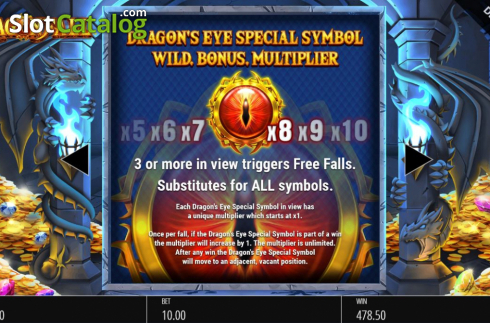 Features 1. Dragon Fall (Video Slot from Blueprint)