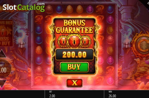 Buy Feature. Dragon Fall (Video Slot from Blueprint)