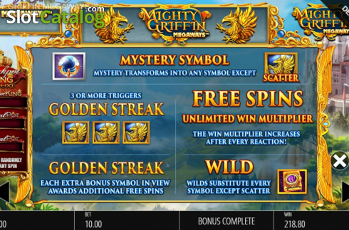 Spiele Mighty Griffin Megaways - Video Slots Online