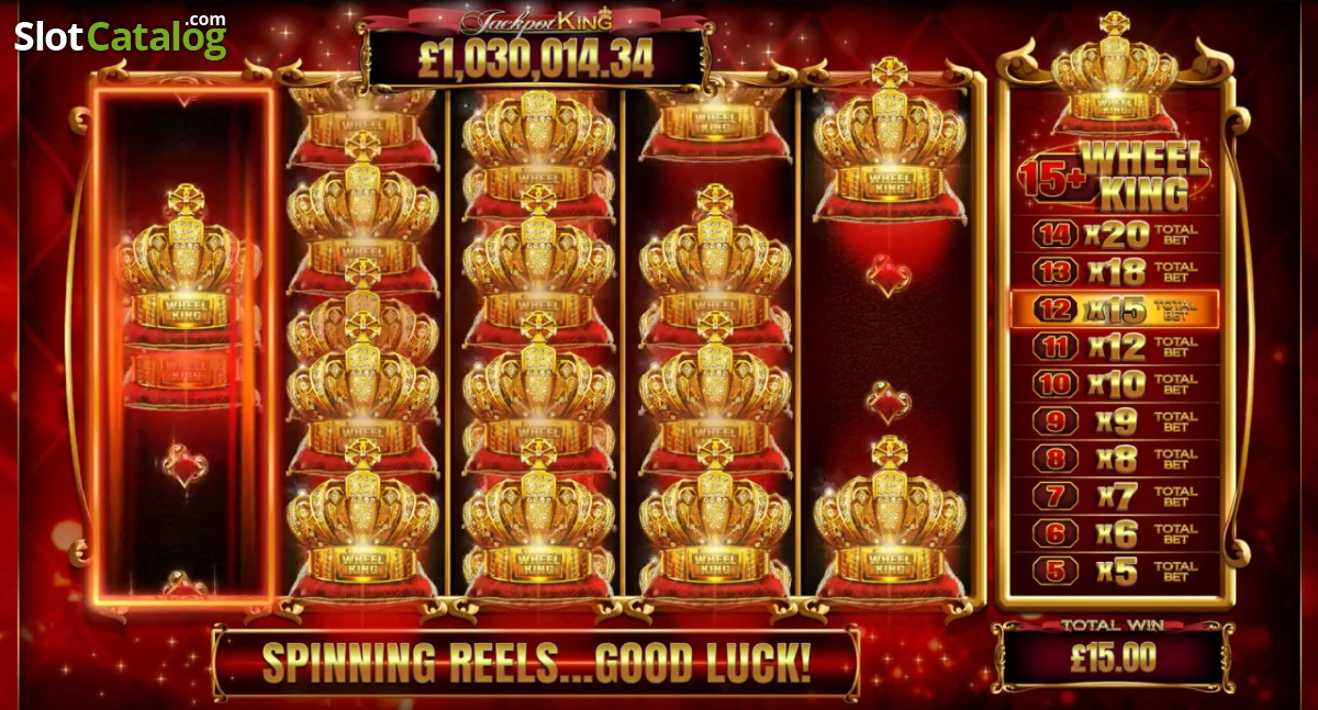 Review of jackpot king video slot from blueprint slotcatalog screen 4 malvernweather