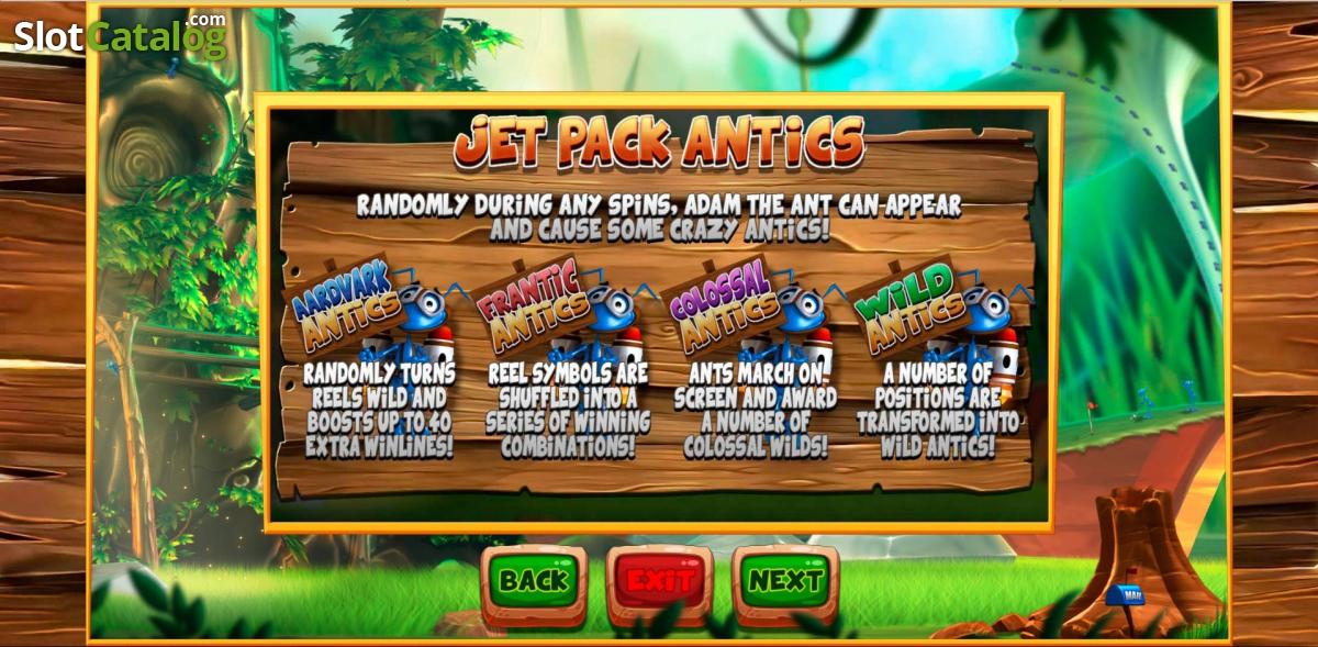 ANTics: Adventures in a Bugs World