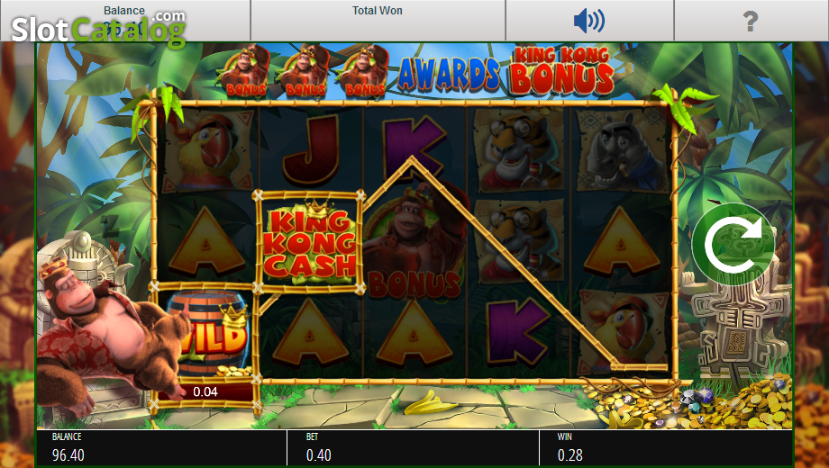 Review of king kong cash video slot from blueprint slotcatalog screen 5 malvernweather Image collections