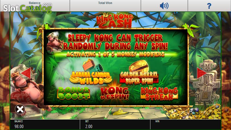 king kong cash juego de casino