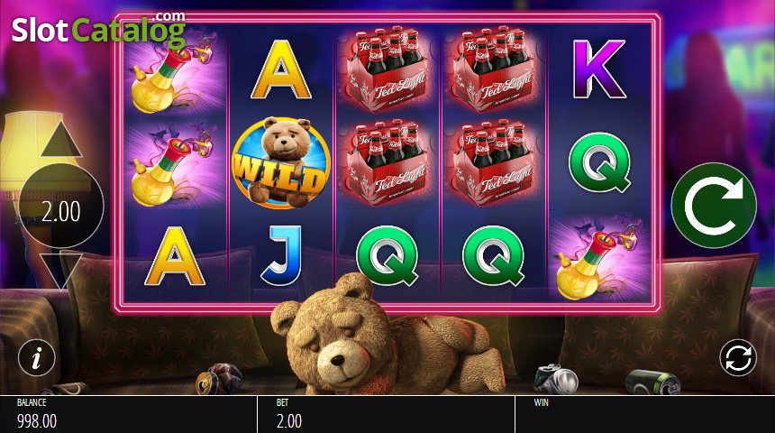 Review of ted video slot from blueprint slotcatalog screen 2 malvernweather Images