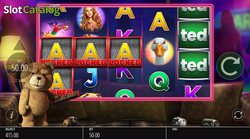 Review of ted video slot from blueprint rtp95805 slotcatalog screen 6 malvernweather Choice Image