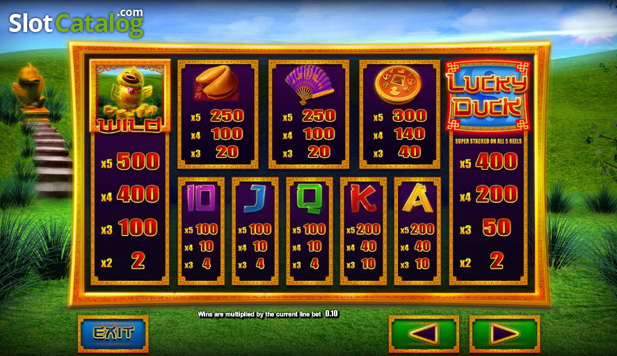 Lucky duck slot machine video