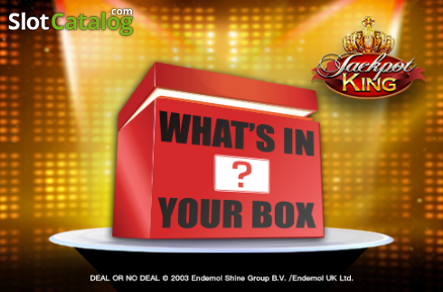 Deal or No Deal: What's In Your Box (Video Slot from Blueprint)