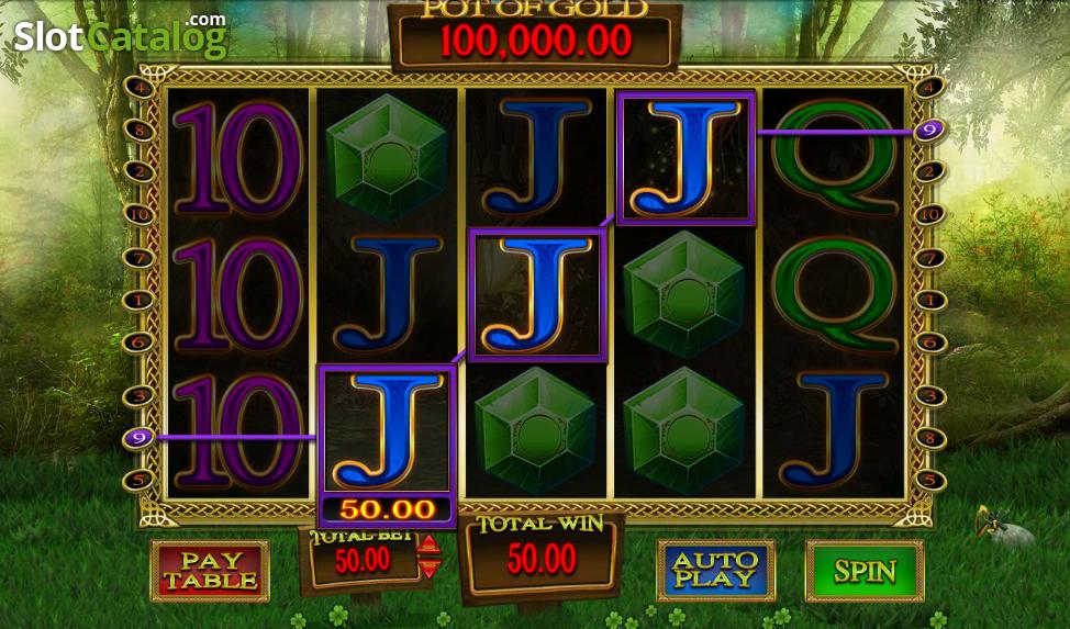 Gold Leaf Clover Slot Machine
