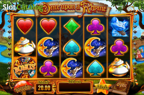Screen10. Once upon a Rhyme (Video Slot from Blueprint)